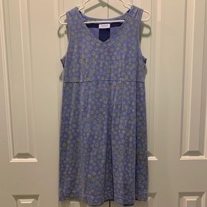 Fresh Produce Cute Blue Floral Dress. Size Small.